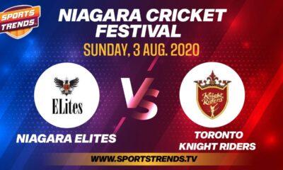 Niagara Cricket Festival 2020-Niagra Elite vs Toronto Knight Riders-Aug. 3, 2020 SportsTrends
