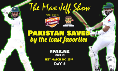 Tea Time with Max-Jeff | PAK vs NZ 1st Test | Day 4 | Pre-Match | TEST NO 2397 | Dec 28, 2020