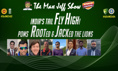 India's Tail FLY HIGH!  POMS ROOTed & JACKed the LIONS AUS v IND   SriLanka V Eng   Jan. 17