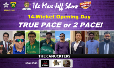 True pace or 2 pace  PAK v South Africa Day 2 Cricket Test 2408 Jan. 26 #MaxJeffShow