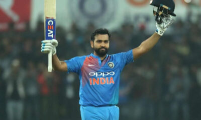 Rohit Sharma joins the elite list of players with 9000+ T20 runs