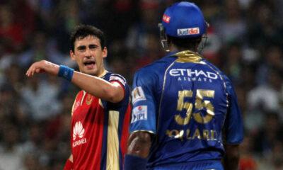 IPL 2014: Mitchell Starc vs Kieron Pollard