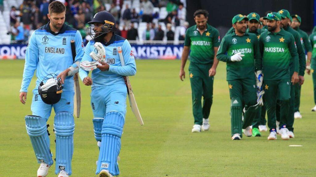 Pakistan vs England 1st ODI Head to Head: