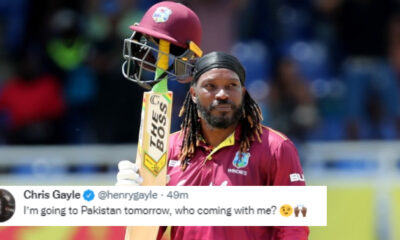 Is Chris Gayle really coming to Pakistan?