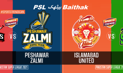 Qalander's Dama-Dum   Islamabad on Top of Multan   PSL بیٹھک Baithak   EP3   Sports Trends Canada