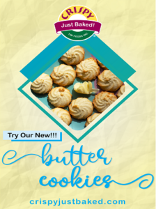 Crispy Foods - Butter cookies wall poster