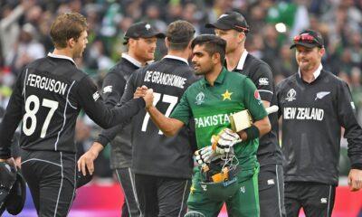 New Zealand tour of Pakistan 2021, Pak vs NZ schedule